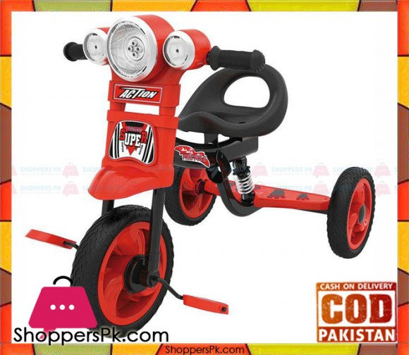 Action Tricycle Red For Kids