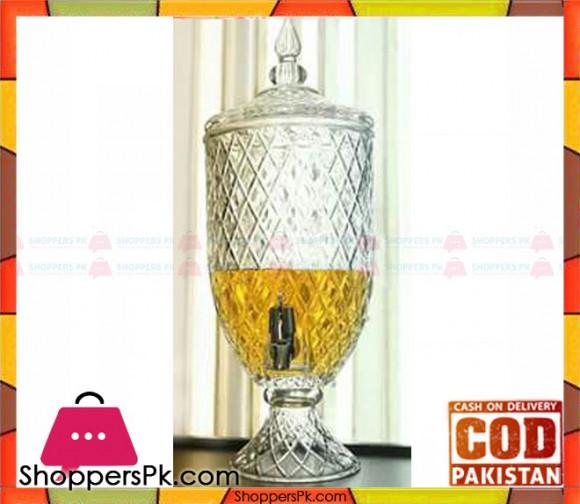 Glass Beverage Dispenser #A-1 - Karachi Only