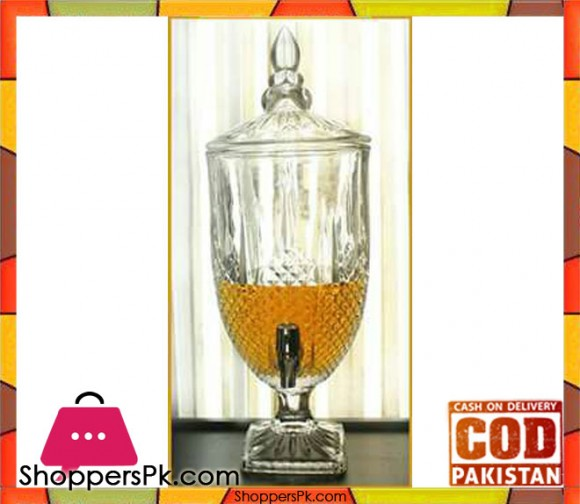 Glass Beverage Dispenser #AA-1 - Karachi Only