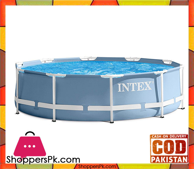 Buy intex prism frame swimming pool 12 feet x 30 inch 28710 at best price in pakistan for Intex swimming pools prices in pakistan