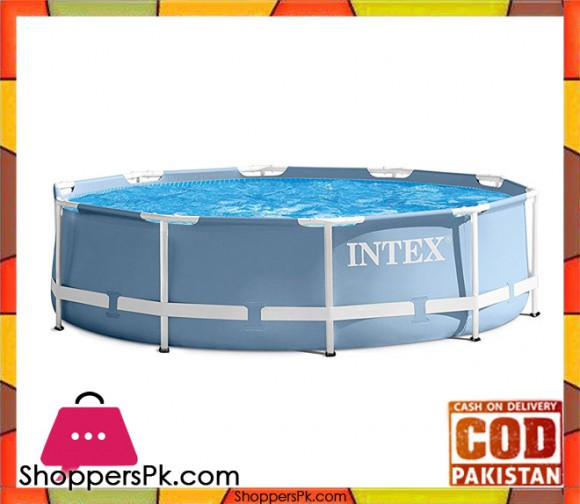 Intex Prism Frame Pool with Filter - 10ft x 30in - 28702