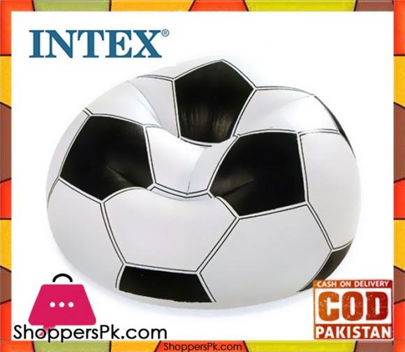 Intex Soccer Shaped Air Sofa - 68557