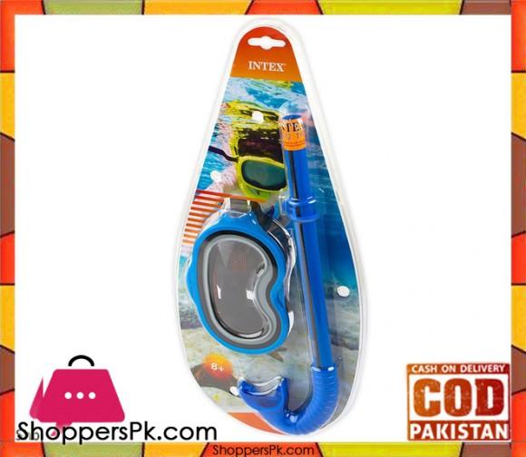 Intex Swim-Mask + Snorkel For Age 6-10 - 55942