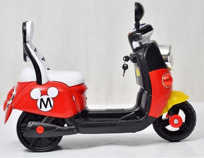Buy Kids Electric Mickey Mouse Scooter At Best Price In