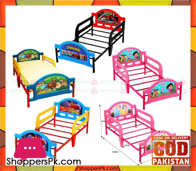 Buy Kids Cartoon Toddler Bed At Best Price In Pakistan