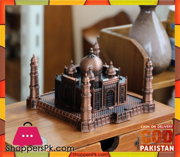 Metal Crafts Taj Mahal Model For Decoration