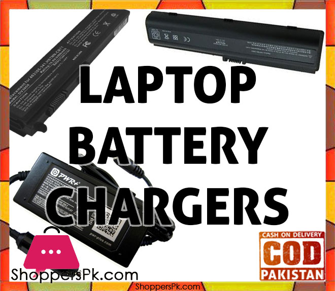 Laptop Batteries & Chargers Price in Pakistan
