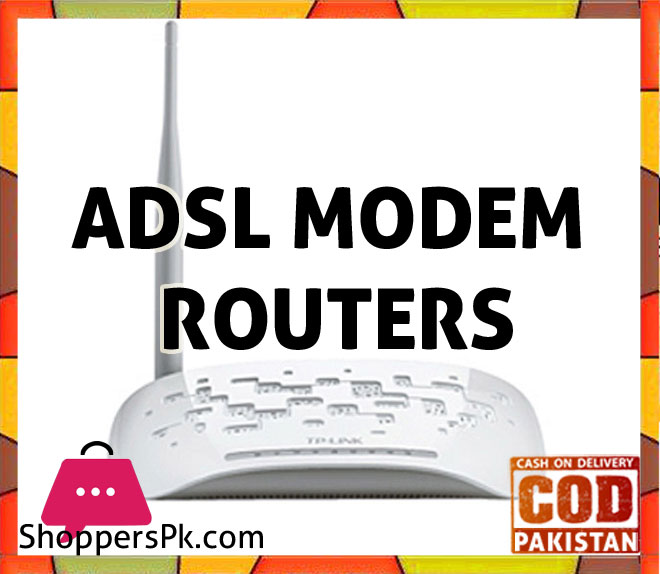 ADSL Modem Routers Price in Pakistan