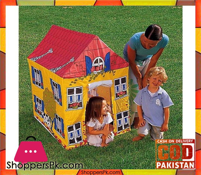 Bestway House Tent for Kids Multicolor -Age 3+ u2013 #52007  sc 1 st  Shoppers Pakistan & Bestway House Tent for Kids Multicolor -Age 3+ - #52007 - Shoppers ...