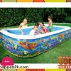 Bestway Multicolor Vinyl Kids' Play Pool-size-10 x 6 x 1.8 Feet - Age 3+ -#54121