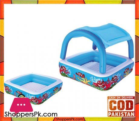 Bestway-Multicolour-Vinyl-Kids'-Play-Pool - 52192-Pakistan