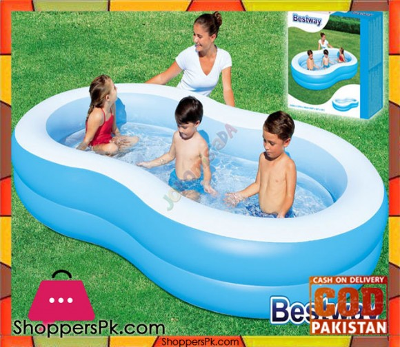 Bestway Vinyl Kids' Play Pool - Size 8.5 x 1.5 x 5 - Age 3+ #54117