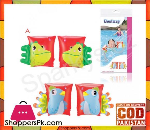 Bestway Vinyl Multicolour Swim armbands baby swim float -Size 15 x 2 x 31 cm Age 2+ # 32115