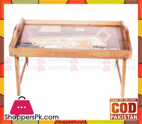 Billi Wood Bed Serving Tray WA1002 Thailand Made