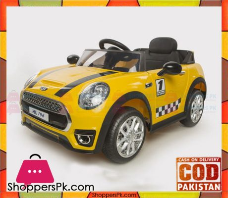 Cooper-Style-Rechargeable-Battery-Powered-Car-For-Kids-HL-198-Price-in-Pakistan