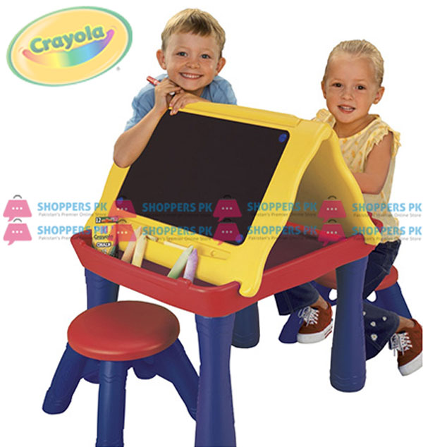 Buy Crayola Play N Draw Activity Table At Best Price In