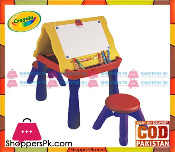 Crayola Play N Draw Activity Table