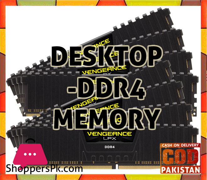 Desktop - DDR4 Memory Price in Pakistan
