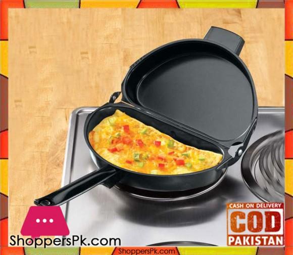 Deluxe Folding Nonstick Omelet Pan