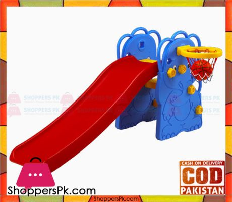 Edu-Plays-Play-Center-ELEPHANT--WITH-BASKETBALL-HOOP-Slide-For-Kids-WJ-311-Price-in-Pakistan