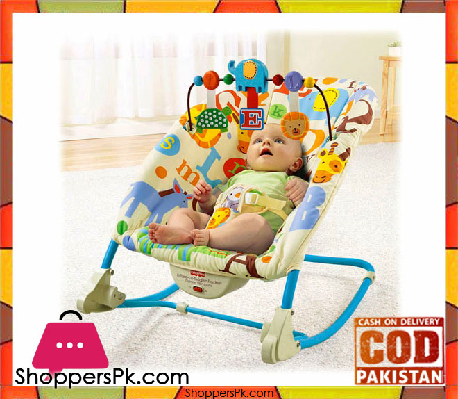 dccfa7437 Fisher Price Deluxe Infant-to-Toddler Rocker – ShoppersPk.com