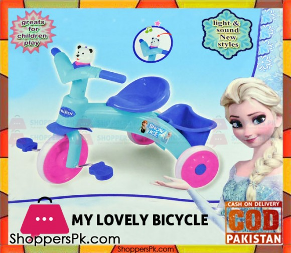 My Lovely Frozen Tricycle 2-5 Year Kids