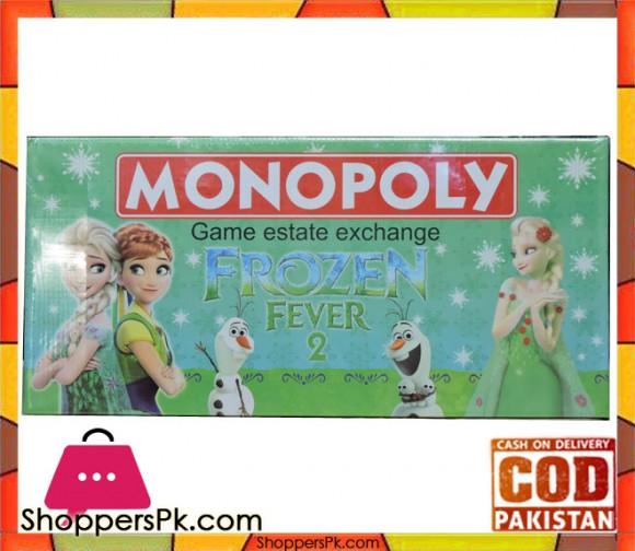 Frozen Monopoly Board Game