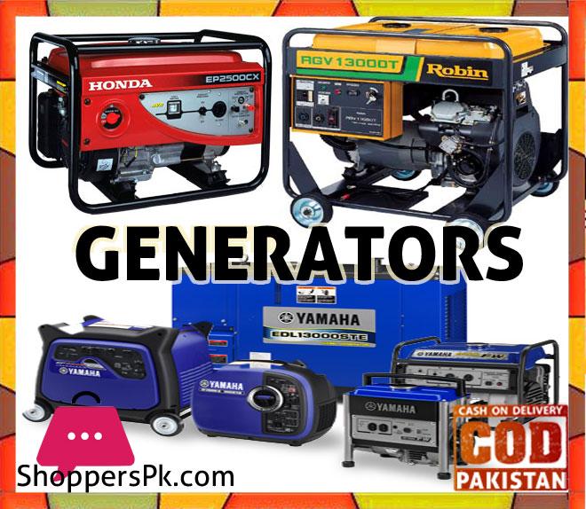 Generators price in Pakistan