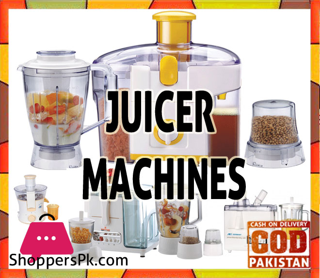 Juicer Machines price in Pakistan