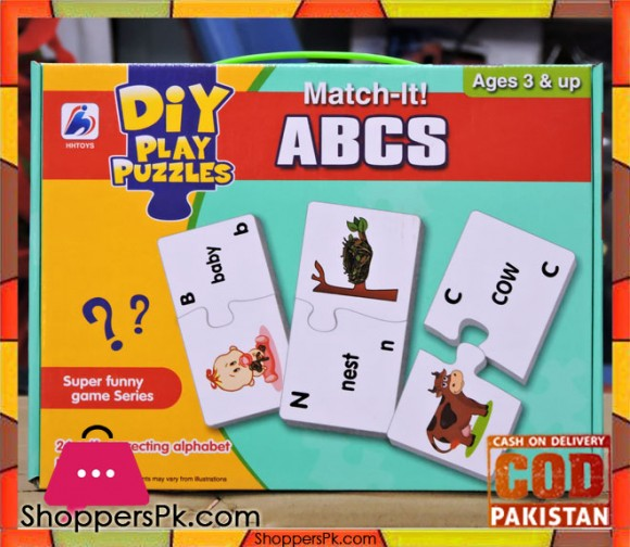 MATCH IT! - ABCS Play Puzzles