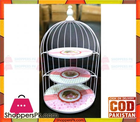 Metal-Cage-Cake-Stand-Price-in-Pakistan-1