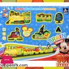 Mickey Mouse Battery Operated Toy Train Track Set with Light Music
