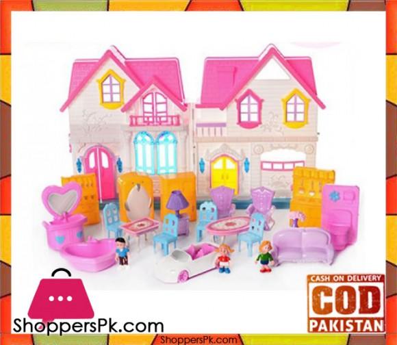 My Happy Family Doll House WD-921E
