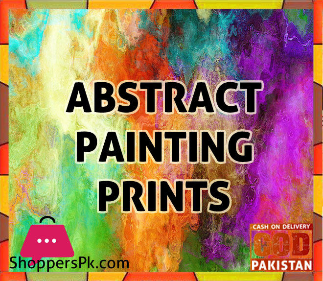 Abstract Paintings Prints price in Pakistan