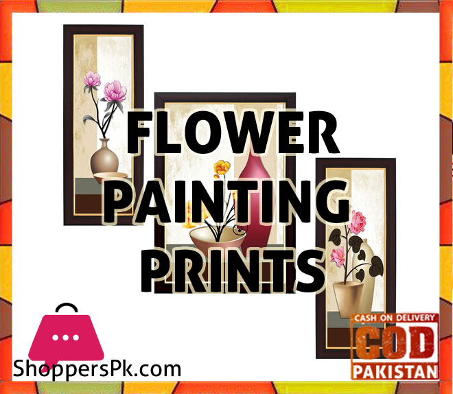 Flower Paintings Prints price in Pakistan