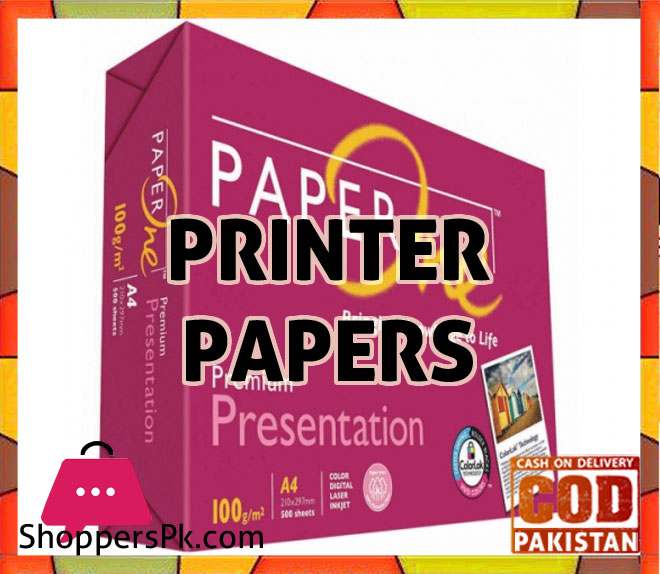 Printer Papers Price in Pakistan