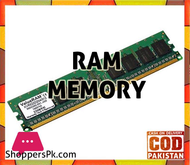 RAM/Memory Price in Pakistan