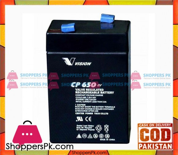 Rechargeable Battery 6V 7 AH