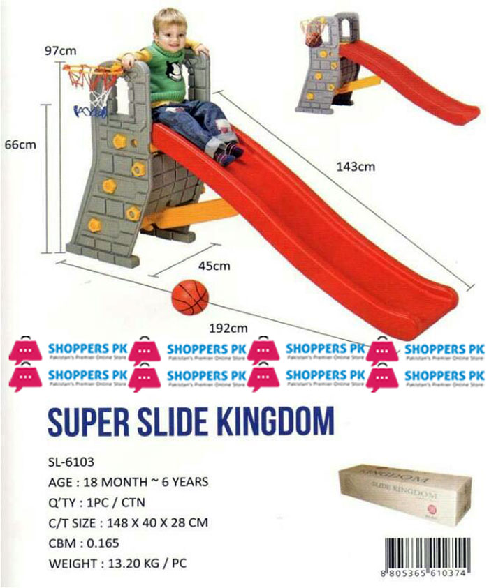 Super Slide Kingdom SL-6103 2-6 Years Kids