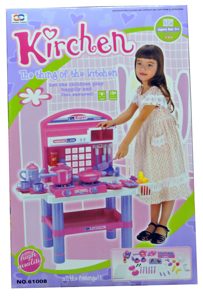 The Thing Of The Kitchen Play Set with Light Music