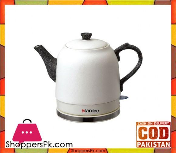 AARDEE Stone Cordless Kettle - ARKT-1225S - White - Karachi Only