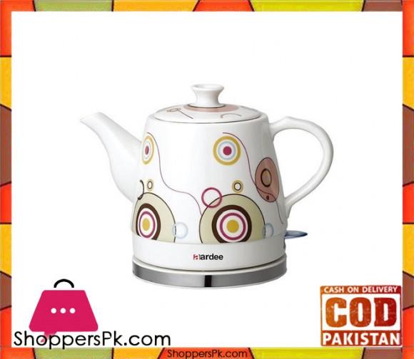AARDEE Circular Design Cordless Kettle - ARKT - 2112C - White - Karachi Only
