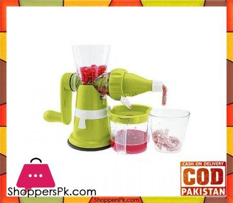 green juicer machine