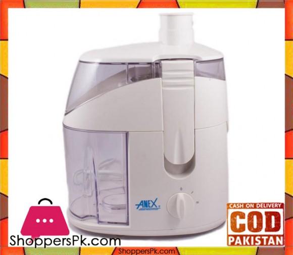 Anex AG-1059 - Deluxe Juicer - White - Karachi Only