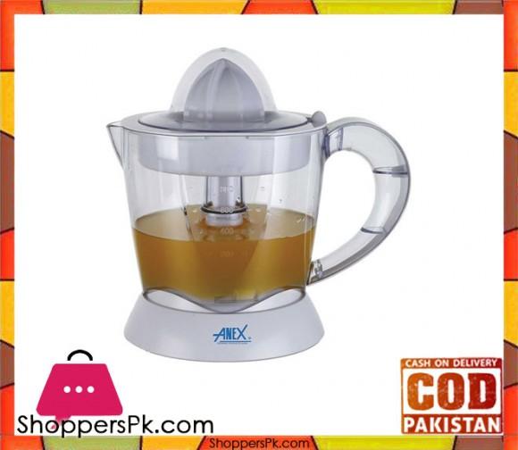 Anex AG-2055 - Citrus Juicer - White - Karachi Only