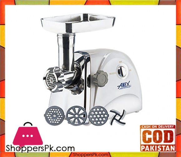 Anex Meat Mincer - White - Karachi Only