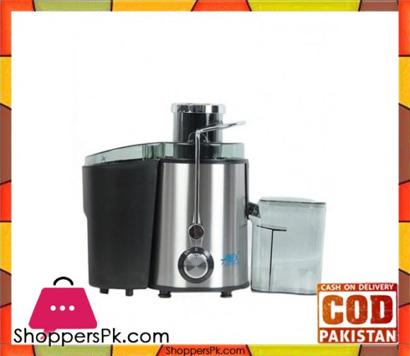 Anex AG-70 - Deluxe Juicer - Silver - Karachi Only