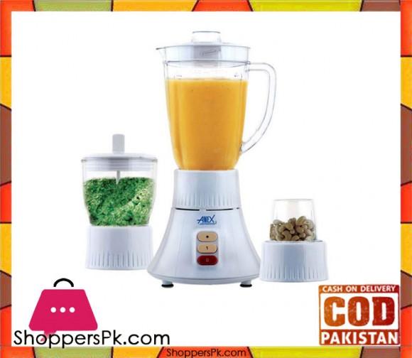 Anex AG-6038 - Blender & Grinder - White - Karachi Only