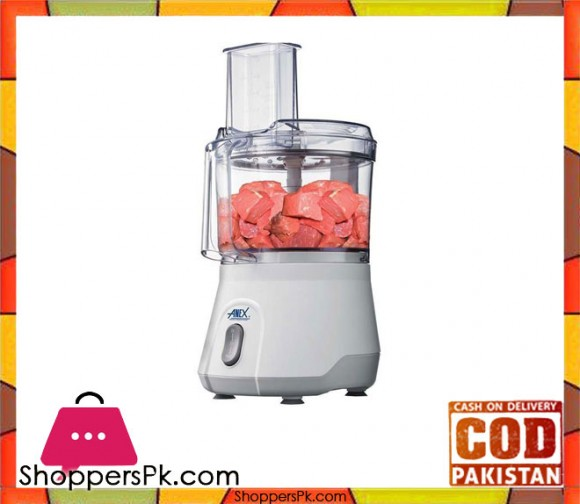 Anex Big Chopper with Vegetable Cutter - White - Karachi Only