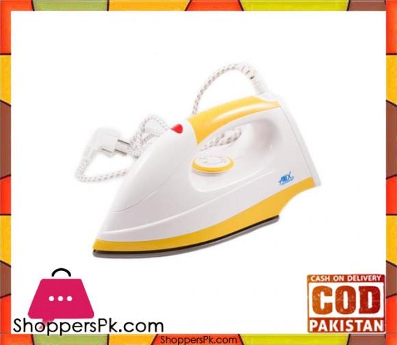 Anex AG-2073 - Dry Iron - White & Yellow - Karachi Only